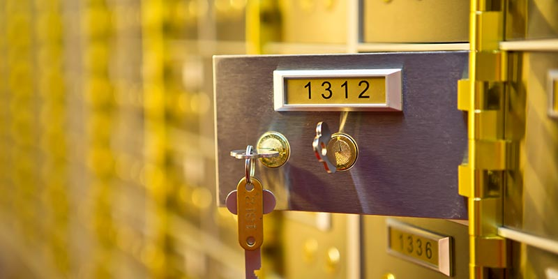 Safety Deposit Boxes Reading